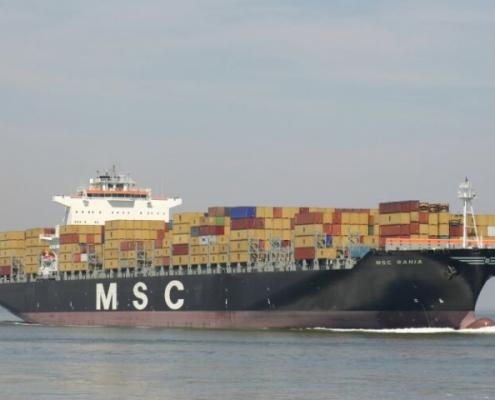 zeecontainer vervoer