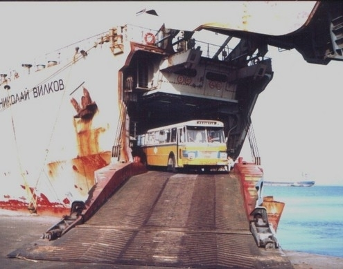 container verschepen